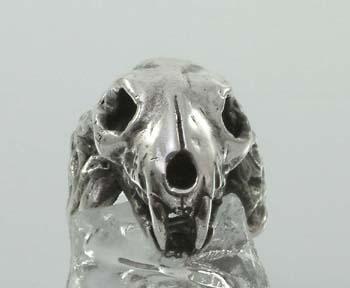 SOLD!! Lions skull Ring