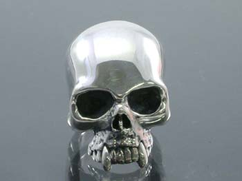 Heavy skull ring