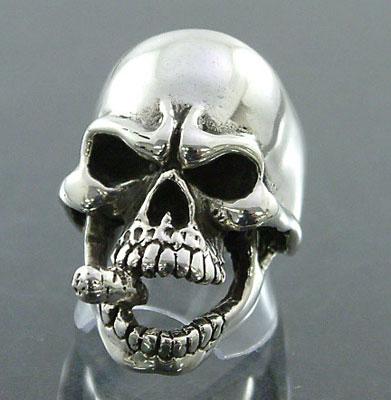 Cigar Skull Ring
