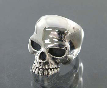 SOLD OUT Large evil skull ring 元祖キースリング