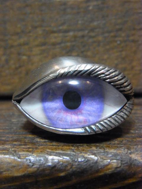 SOLD!! 15号  human eye-パープル