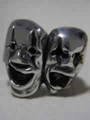 Two Face RING SV DAY OF THE DEAD