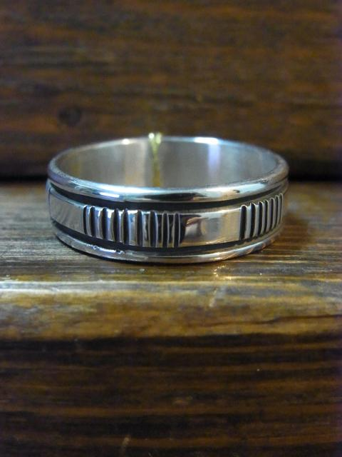 23号BRUCE MORGAN STAMPWORK7�o幅 RING