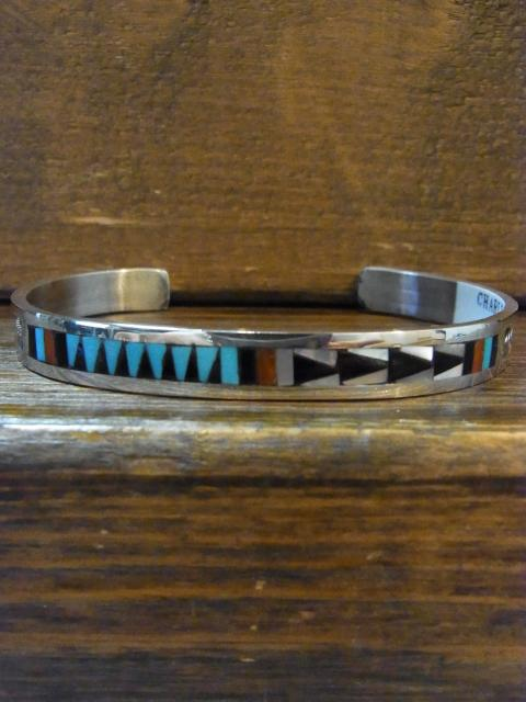 SOLD OUT CHARLETTE DISHTA Inlay CUFF BRACELET