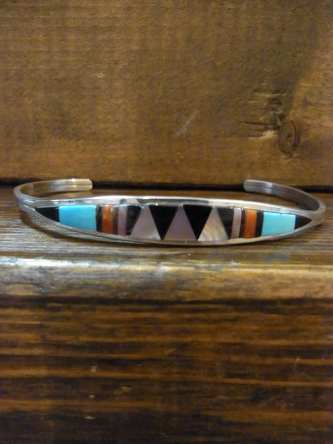 SOLD!! CENA WEEBOTHEE  Inlay CUFF BRACELET