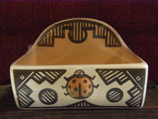 ZUNIカードスタンド陶器カタツムリ