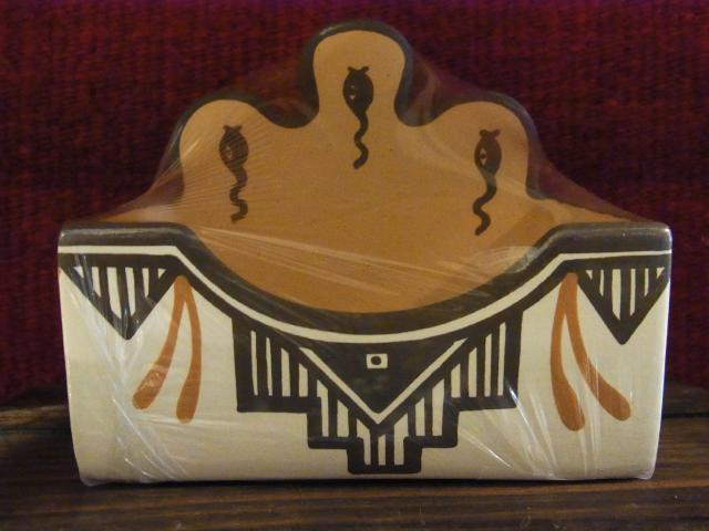 ZUNIカードスタンド陶器ドラゴンフライ