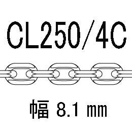 CL/4c-250-60�p アズキ4面カット 線径2.50�o