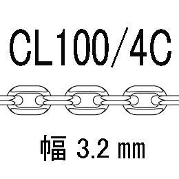 CL/4c-100-50�p アズキ4面カット 線径1.00�o