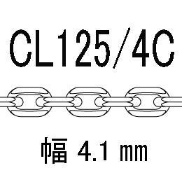 CL/4c-125-60�p アズキ4面カット 線径1.25�o