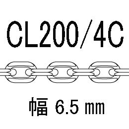 CL/4c-200-45�p アズキ4面カット 線径2.00�o