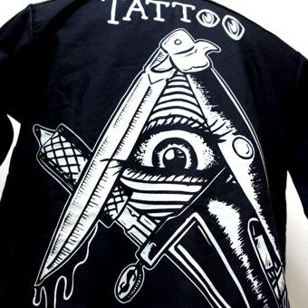 SOLD!! TATTOO ILLUMINATI T-SH  LFL-SS93