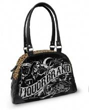 HANDBAGS /DEATH BANNER LIQUOR BRAND