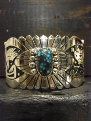 SOLD!! Gary & Elsie Yoyokie Bracelet APCHE BLUE Turquoise