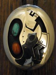 SOLD!! Ted Wadsworth VINTAGE-HOPI Tq&Co BOLOTIE 約7.7cm x 6cm