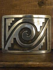 SOLD!! LAWRENCE SAUFKIE Sr Belt Buckle