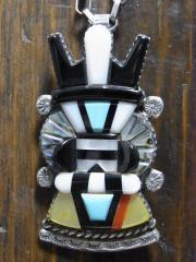 アンテロープカチナ pendant ANDREW DEWA VINTAGE-ZUNI